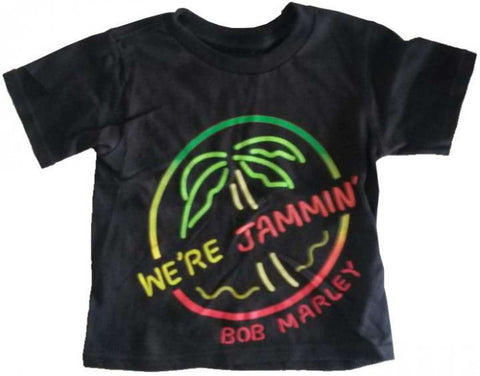 Bob Marley toddler t-shirt--We're Jammin'