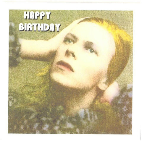 David Bowie Birthday Card