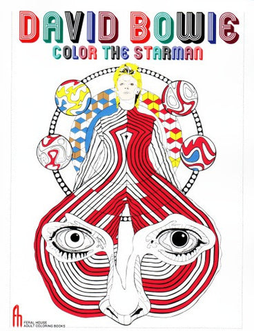 David Bowie Coloring Book...Color the Starman
