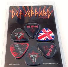 Def Leppard Collectible Guitar Picks