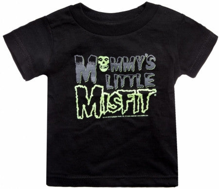 Misfits Mommy's Little Misfit toddler tee