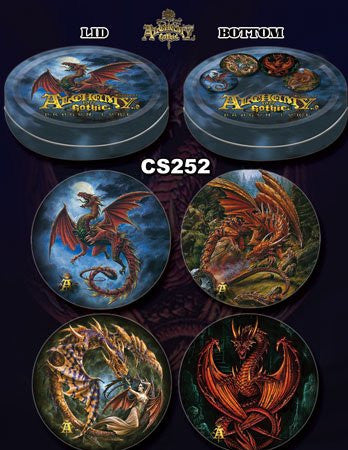 Alchemy Dragon Coaster Set