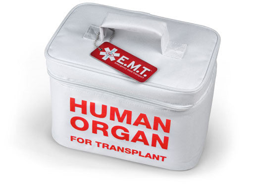 "E.M.T. Emergency Meal ""Human Organ"" Transport Cooler"