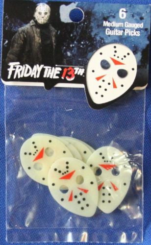 Friday the 13th guitar picks