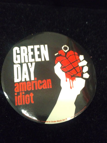 Green Day American Idiot Sticker