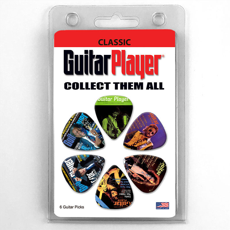 Guitar Player Magazine Cover Guitar Picks