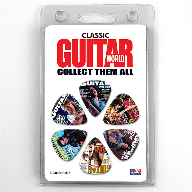 Guitar World Magazine Cover Guitar Picks