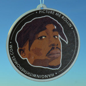 Hangin' With the Homies Air Freshener--Tupac Shakur