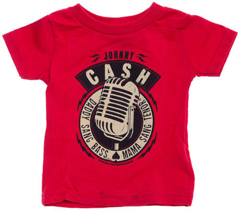 Johnny Cash toddler t-shirt