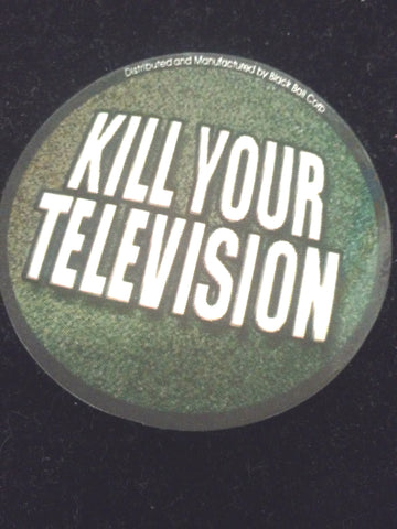 Kill Your Television Sticker