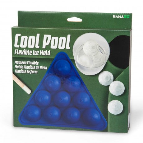 Cool Pool Flexible Silicone Ice Cube Tray