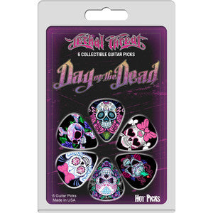 Day of the Dead collectible guitar picks