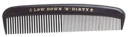 Low Down and Dirty plastic comb