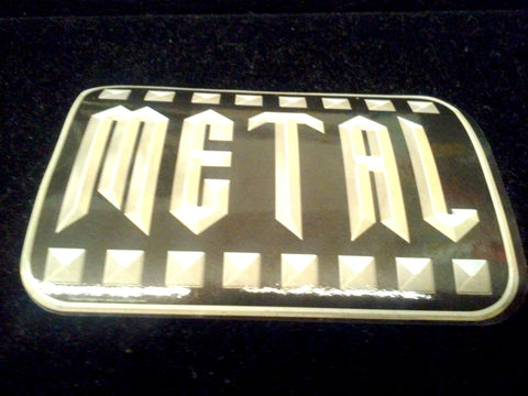 Metal Sticker