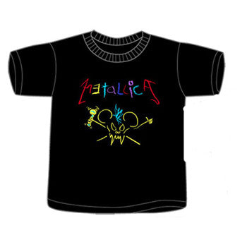 "Metallica ""Scribble Skull"" toddler tee"