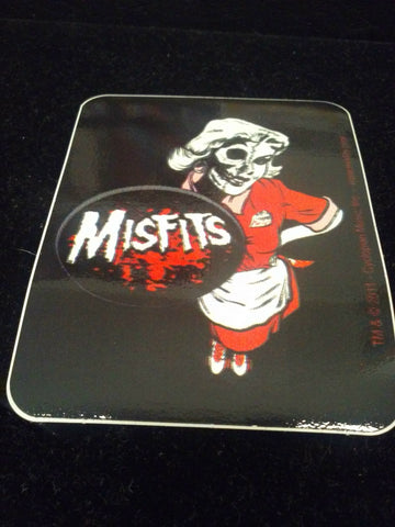 Misfits Waitress Sticker