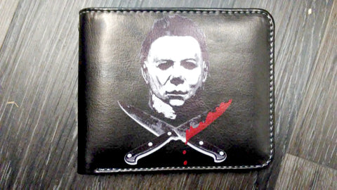 """Halloween"" Micheal Myers Bi-Fold Faux Leather Wallet"