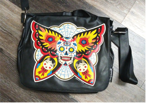 Death's Head Moth Purse/Messenger Bag