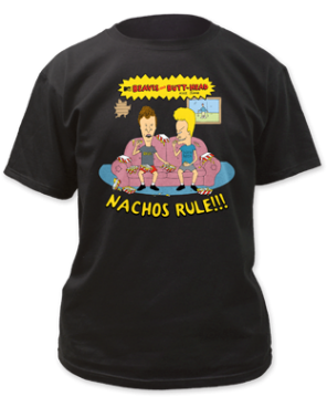 Beavis & Butthead Nachos Rule T-shirt
