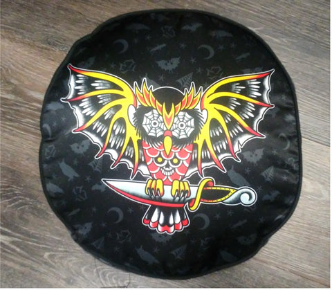 Round Owl Pillow/Cushion