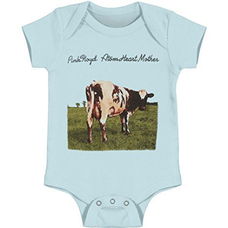 Pink Floyd Atom Heart Mother onesie