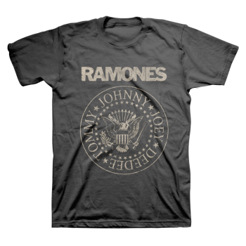 Ramones Distressed Presidential Seal T-shirt