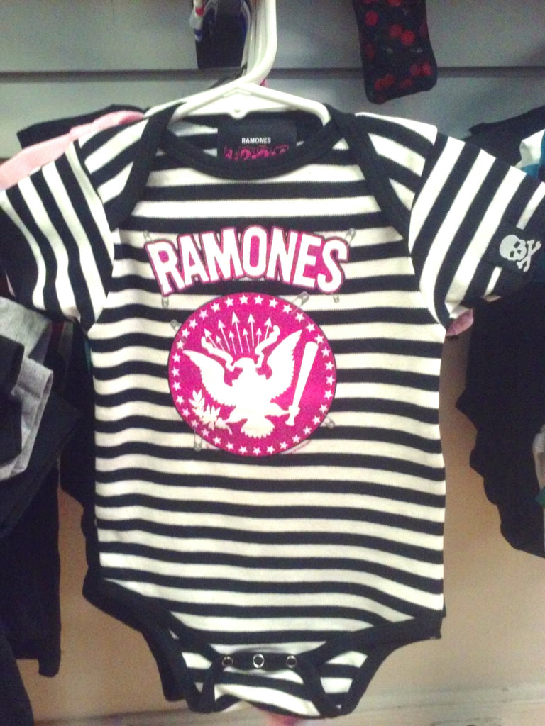 Ramones Striped onesie