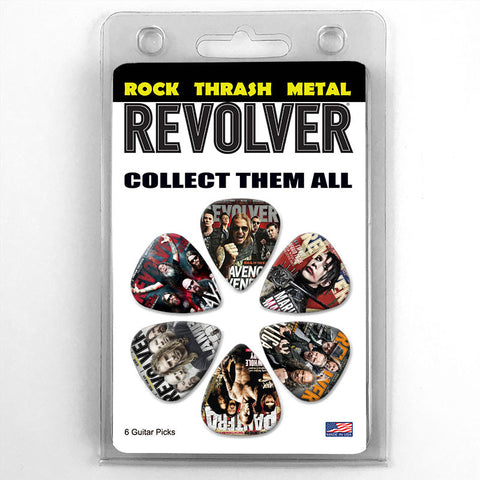 Revolver Magazine Cover Guitar Picks