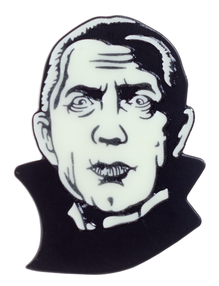 Dracula Bela Lugosi Glow in the Dark enamel pin