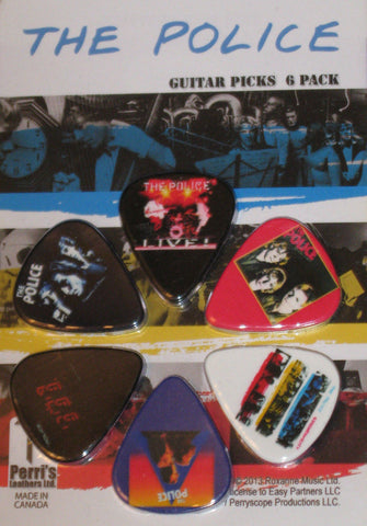 The Police Collectible Guitar Picks