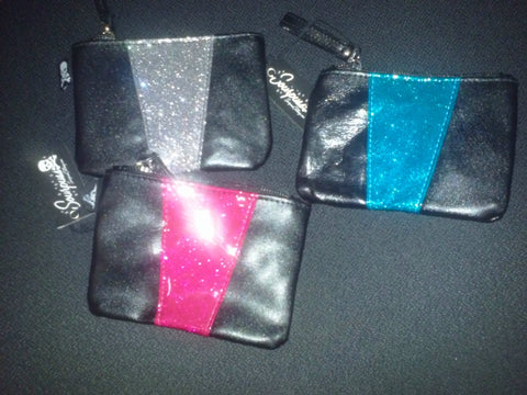 Sparkly Vinyl Monroe Coin Purse
