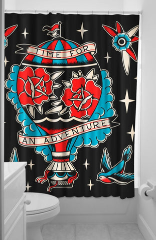 Time for an Adventure Shower Curtain