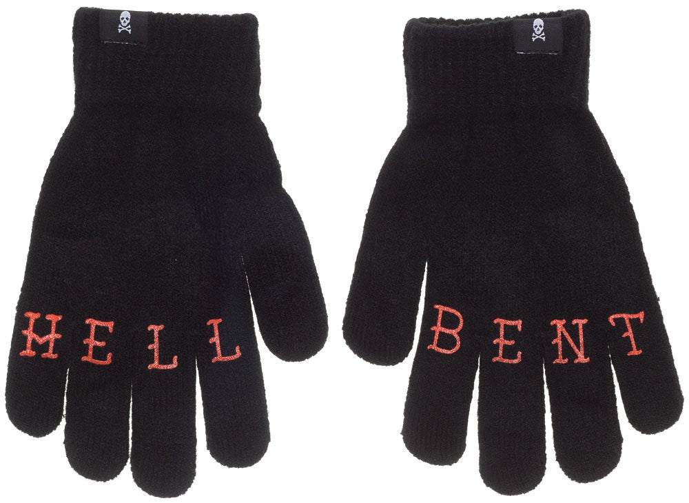 Knit Gloves--Hell Bent