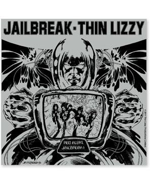 "Thin Lizzy ""Jailbreak"" Sticker"