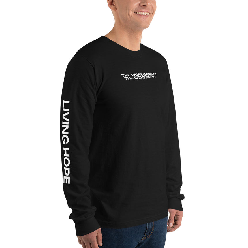 The Work Is Finished (Living Hope) - Long sleeve tee