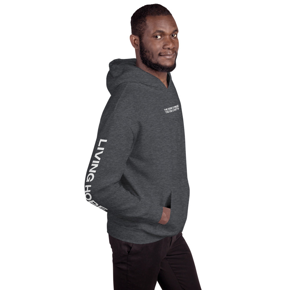 THE WORK IS FINISHED (Living Hope) - Unisex Hoodie