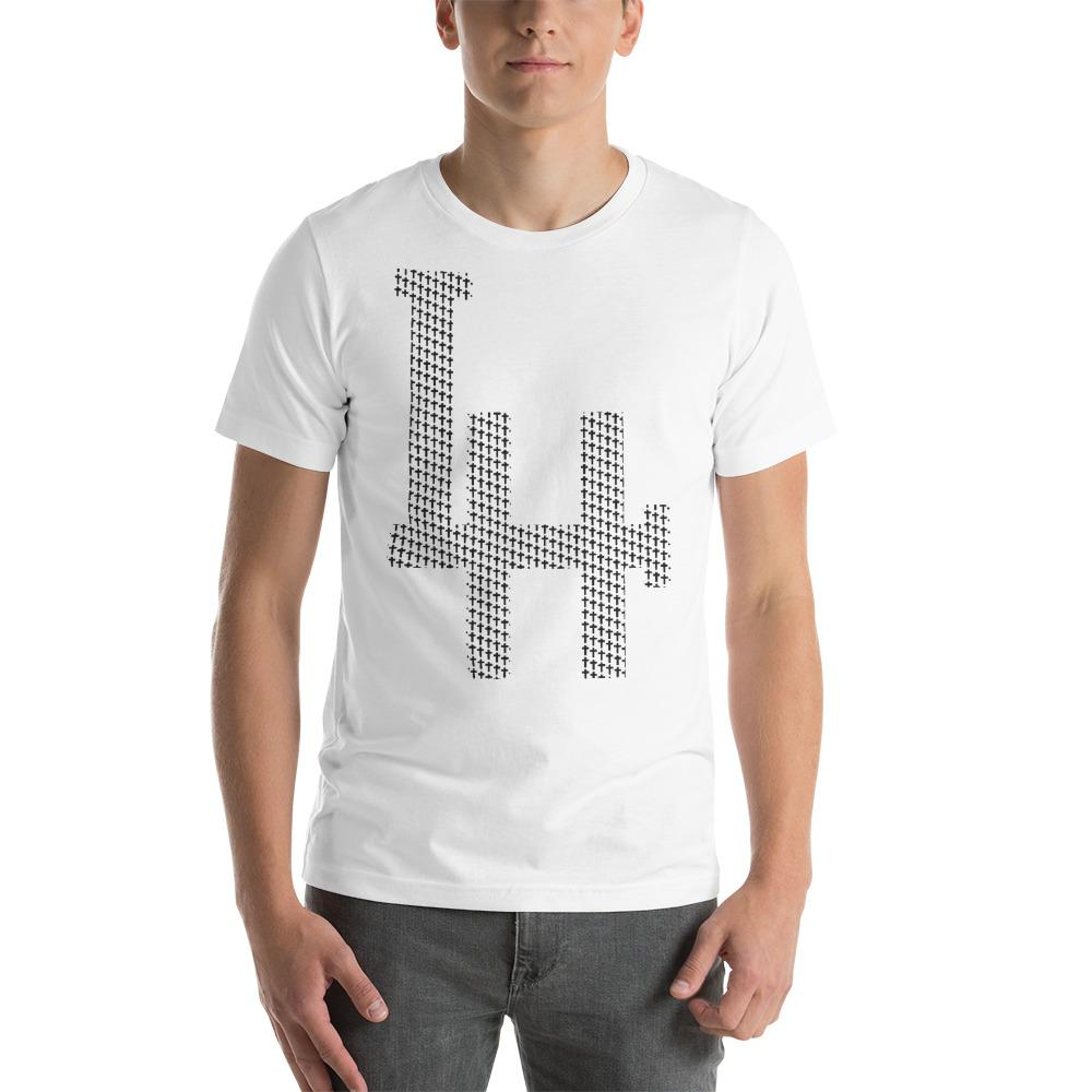 Living Hope - LH - White Short-Sleeve Unisex T-Shirt