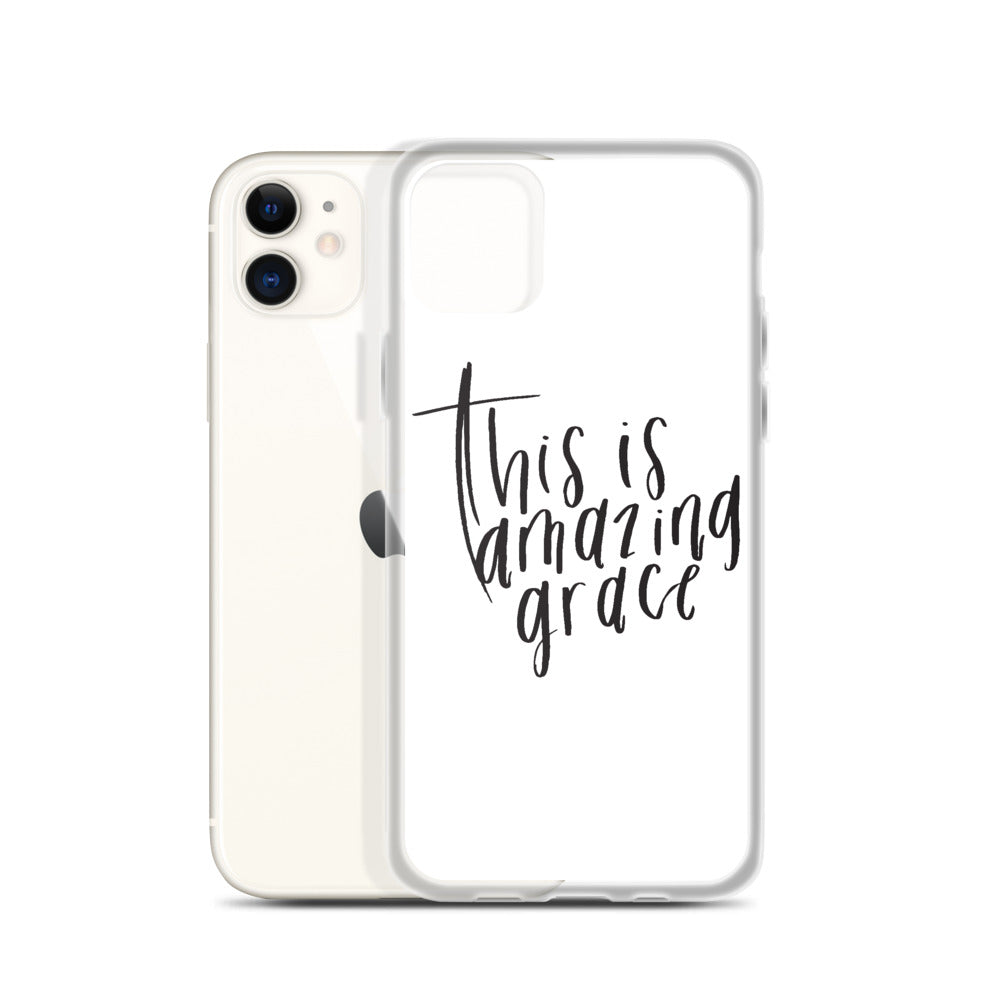 This Is Amazing Grace - iPhone Case