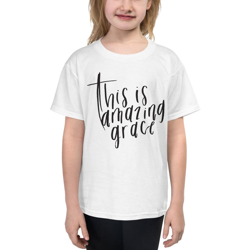 This Is Amazing Grace - Youth Short Sleeve T-Shirt