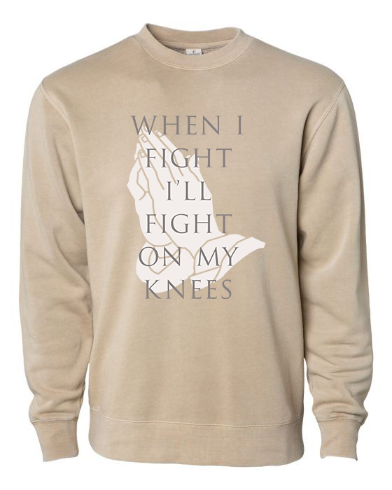When I Fight (Battle Belongs) - Sweatshirt