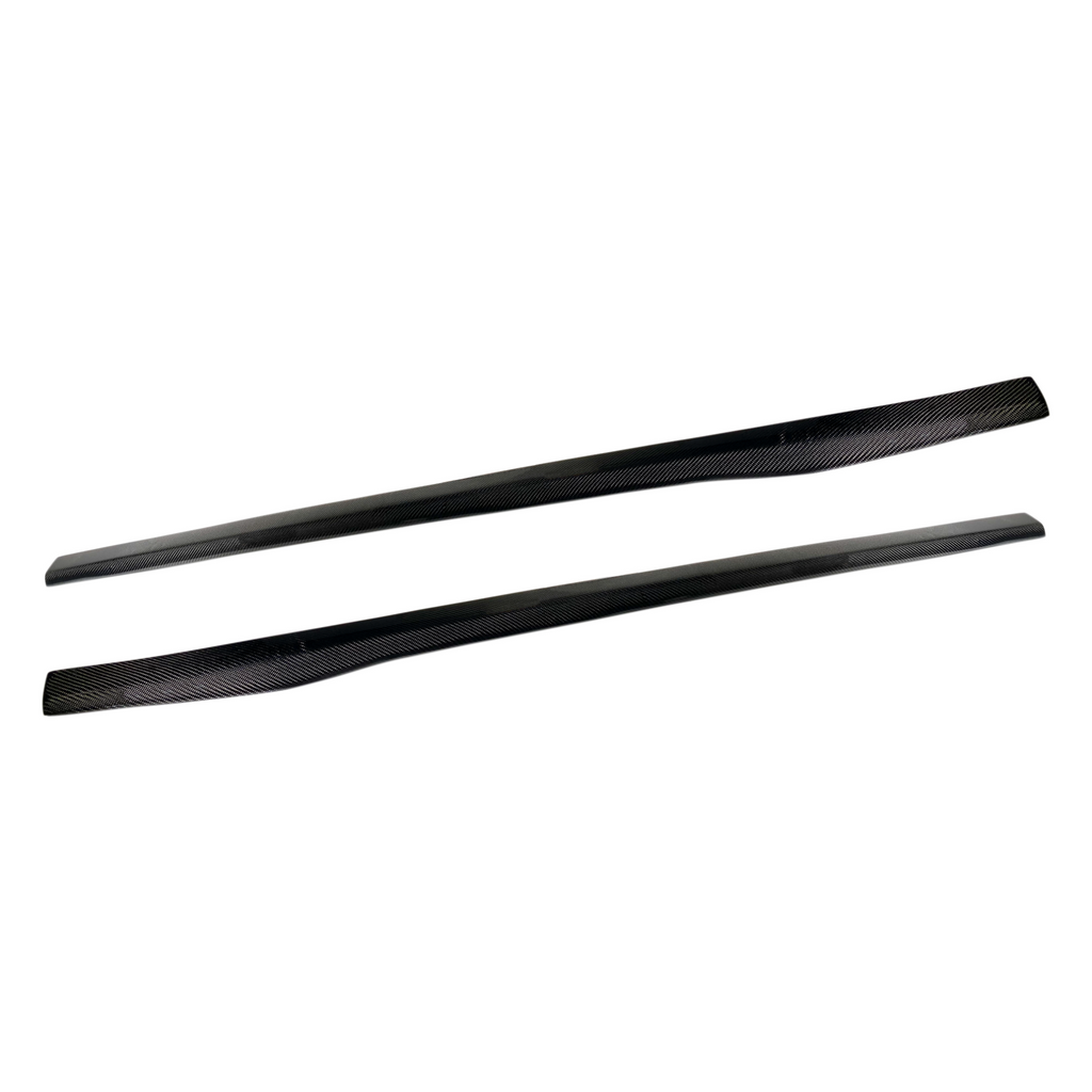 R1 Designed Carbon Fiber Side Skirt Extension F87 Edition - Side Skirts - SUVNEER