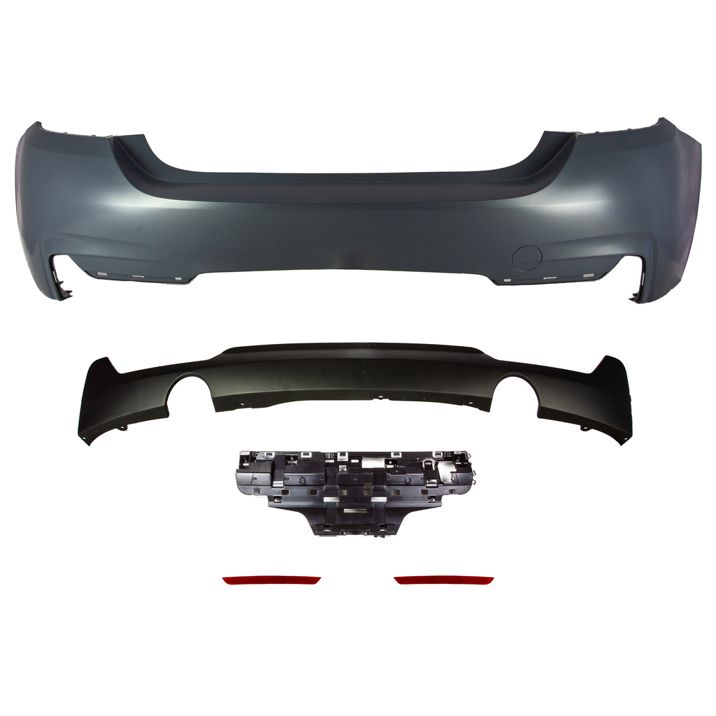 M SPORT Designed Rear Bumper F32 Edition - Rear Bumper - SUVNEER