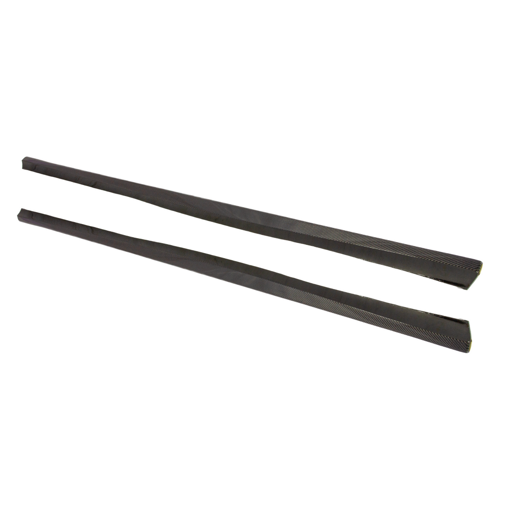 SUVNEER Designed Carbon Fiber Side Skirt Extensions W211 Edition - Side Skirts - SUVNEER