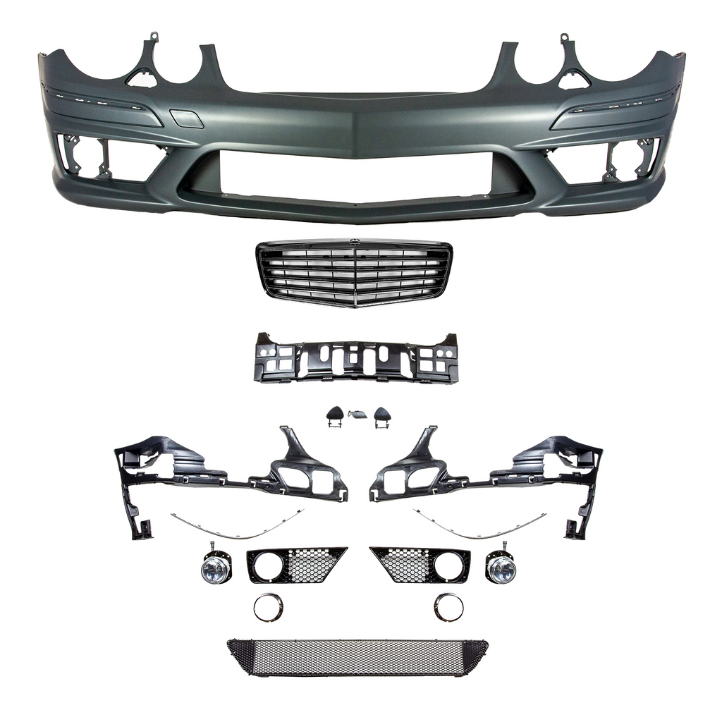 E63 Designed Front Bumper Conversion Kit W211 Edition - Front Bumper - SUVNEER
