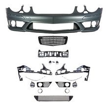 E63 Designed Front Bumper Conversion Kit W211 Edition