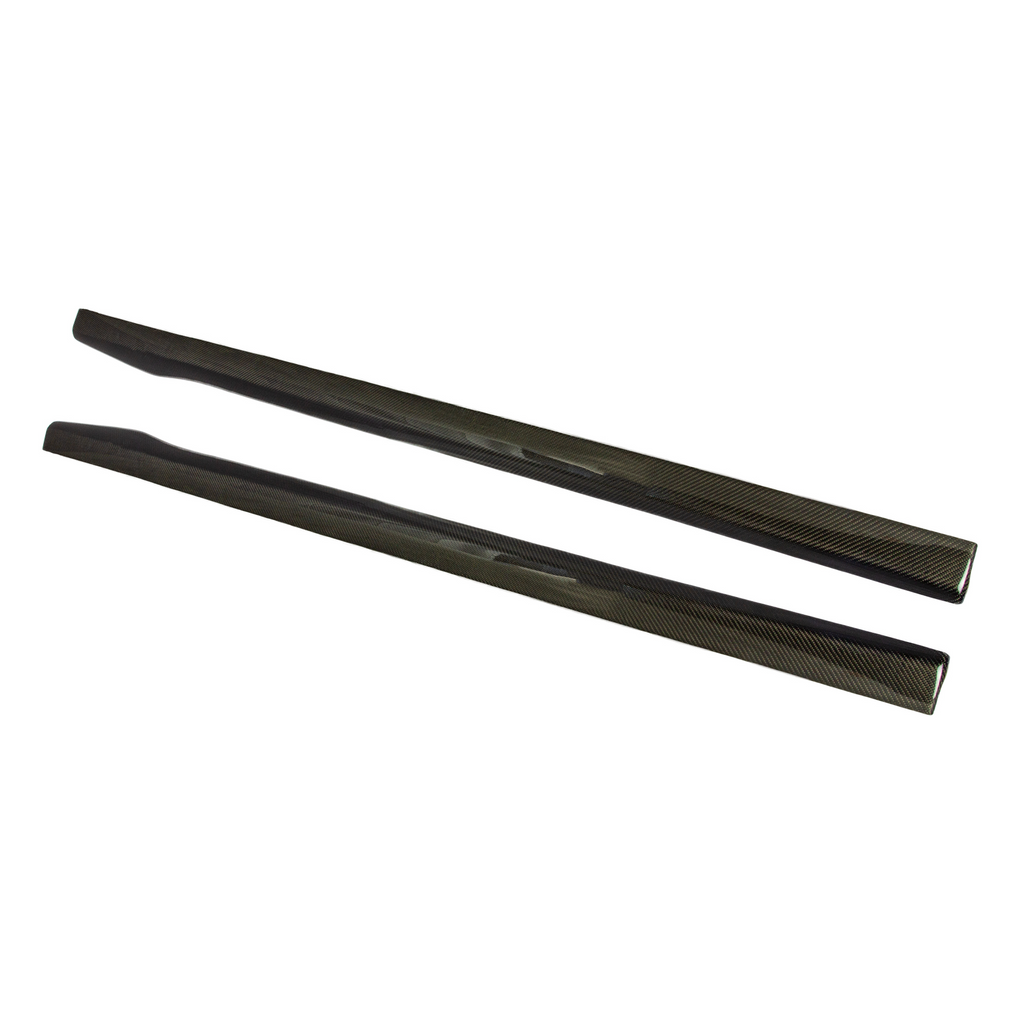 RS Designed Carbon Fiber Side Skirt Extensions F06 Edition - Side Skirts - SUVNEER
