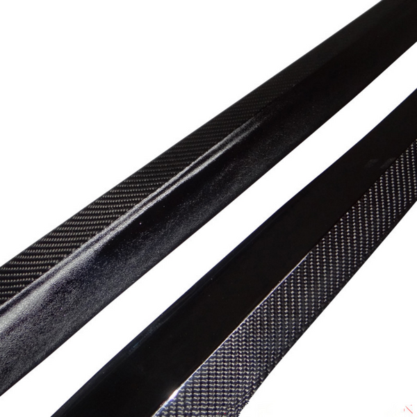 M SPORT Carbon Fiber Side Skirt Splitters E92 Edition - Side Skirts - SUVNEER