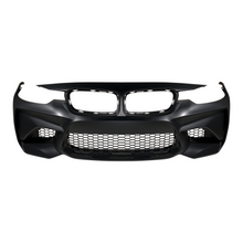 front view of front bumper