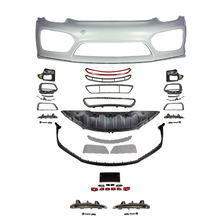 front bumper with additional items