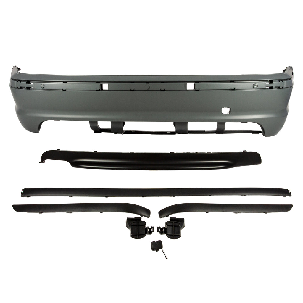 MTECH Designed Rear Bumper E46 Edition - Rear Bumper - SUVNEER